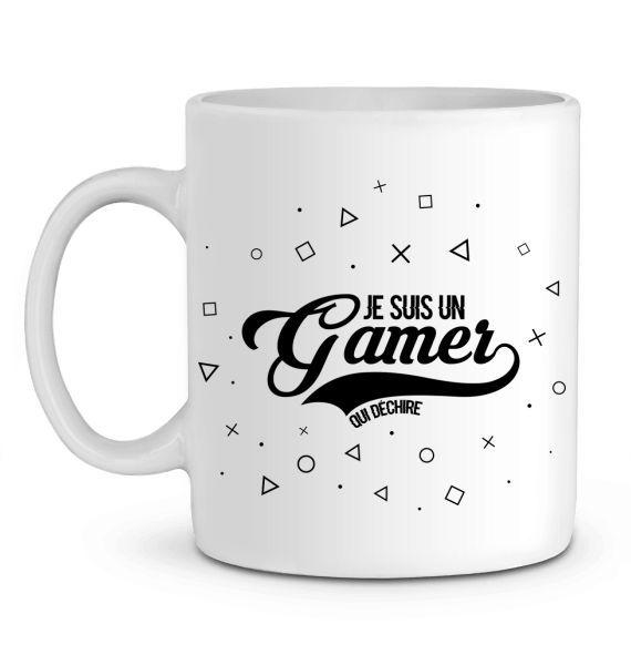 Mug en Céramique Gamer qui déchire