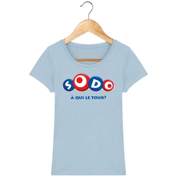 Tee Shirt SODO à qui le tour - Pour Femme