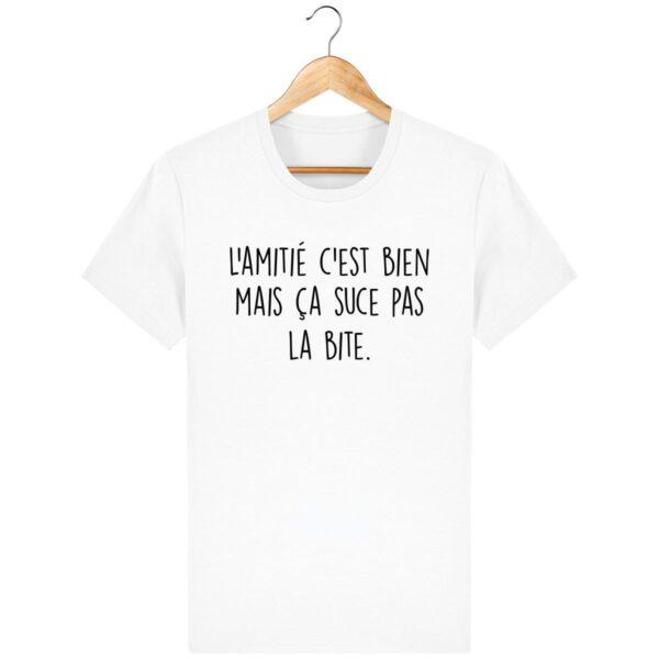 Tee Shirt L'amitié c'est bien - Pour Homme