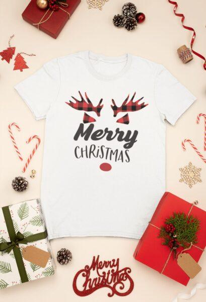 t shirt noel merry christmas 2