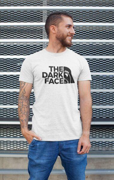 t shirt star wars the dark face