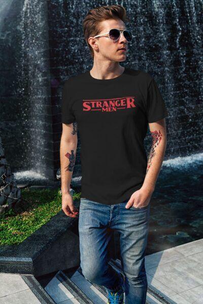 t shirt stranger things stranger men