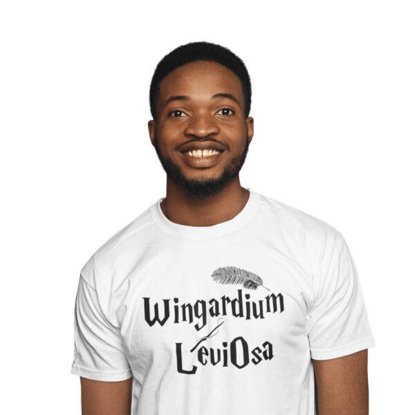 T shirt harry potter wingardium leviosa