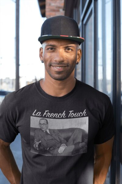 t shirt chirac la french touch
