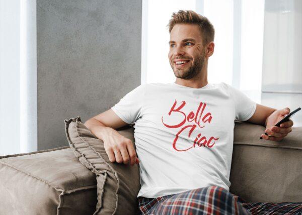 t shirt casa de papel bella ciao homme