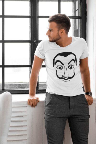 t shirt casa de papel dali homme